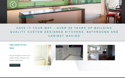 Quality Kitchens – Mornington Kitchen Renovations Website Design