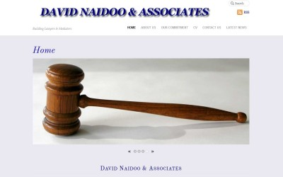 David Naidoo & Associates – Building Law Website Design Hampton Park