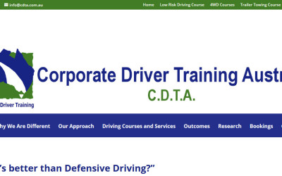 Website Design Glen Waverley  – CDTA