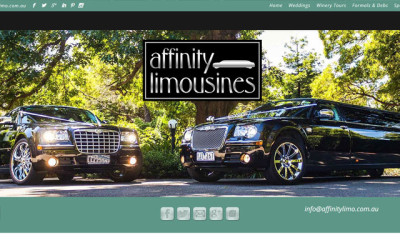 Website Design Lilydale – Affinity Limousines