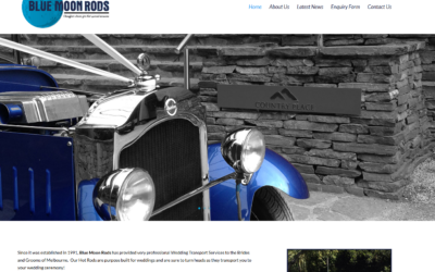 Website Design Wheelers Hill – Blue Moon Rods