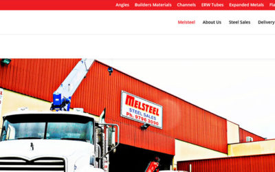 Website Design Hallam – Melsteel