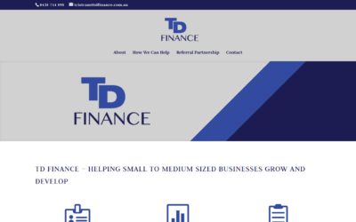 TD Finance Website
