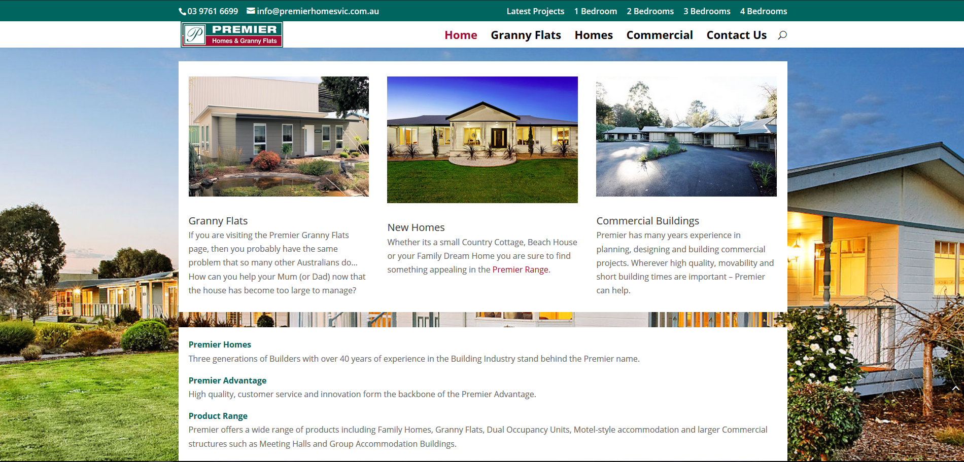 Melbourne Granny Flat Website – Premier Homes and Granny Flats ...