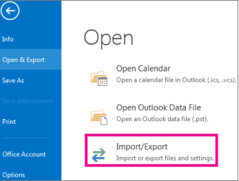 Email Backup - Outlook - Step 1
