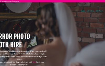 Mirror Booth: Photo Booth Hire in Melbourne