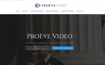 ProEye Video – Stunning Wedding Videography Made Simple