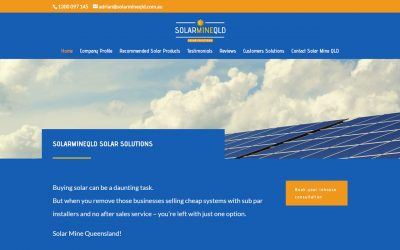 Service and Quality with Solar Mine QLD