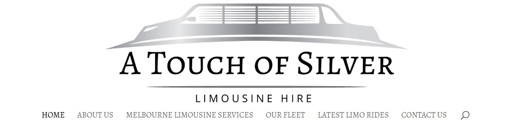 A Touch of Silver Website Design