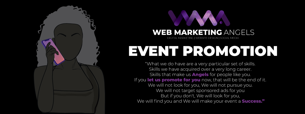 Web Marketing Angels - Event Promotion - I Will Find You