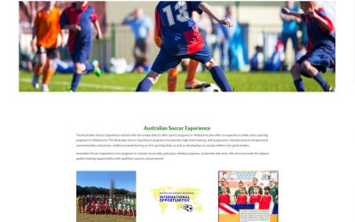 Latest Website – Australian Soccer Experience