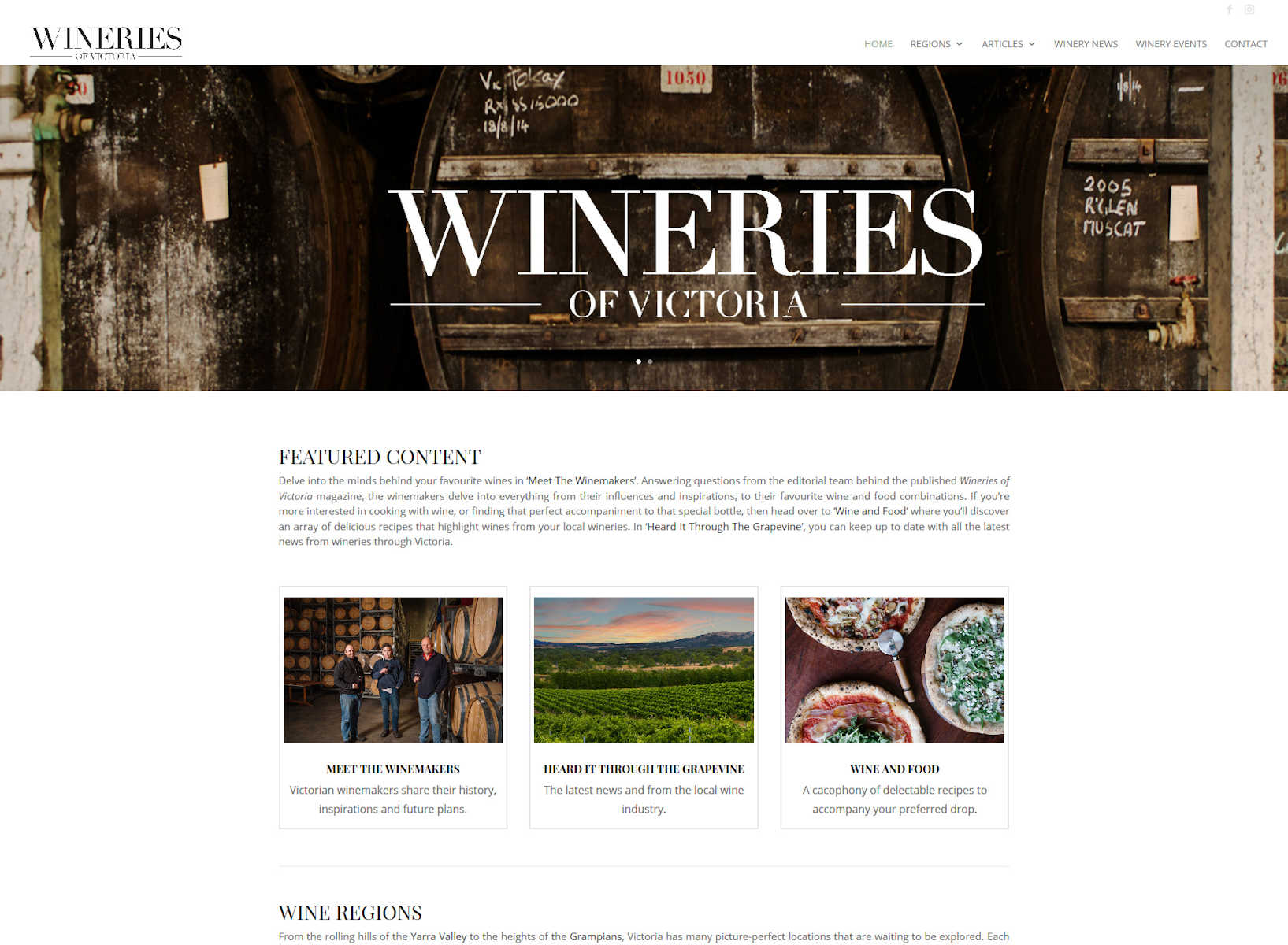 Wineries of Victoria