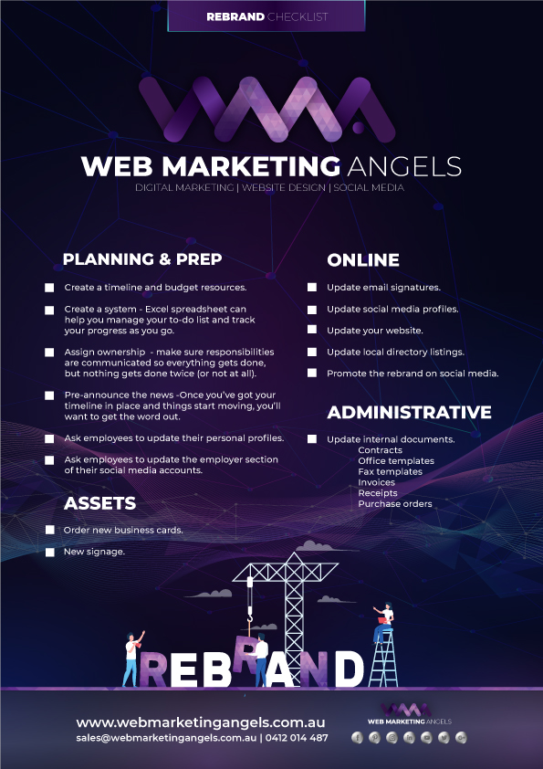 Web Marketing Angels - Essential Guide to Rebranding Your Business