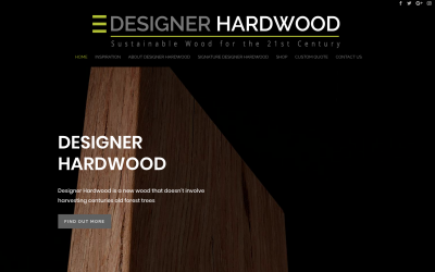 Latest Website – Designer Hardwood