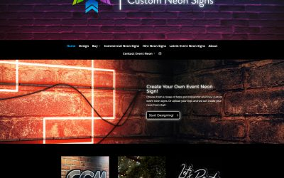 Latest Website – Event Neon