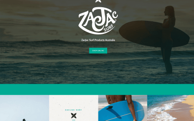 Latest Website – ZacJac Surf